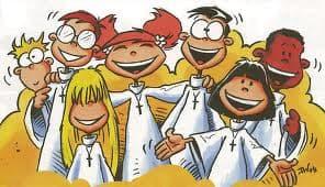 Les servants d'autel de la Nièvre