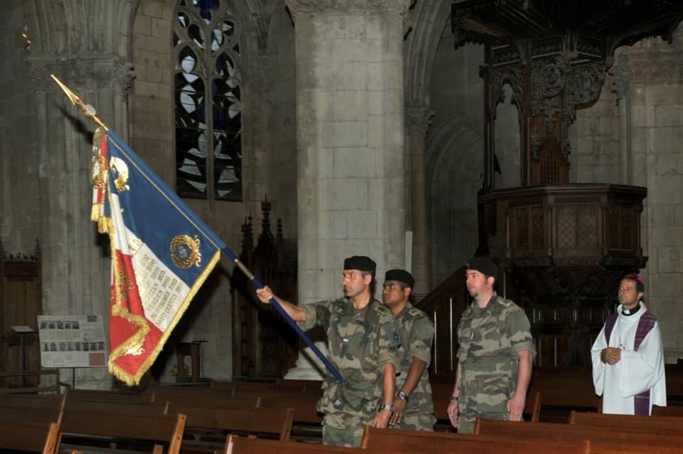 Veillée drapeaux 87