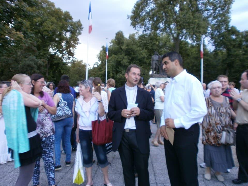 Prier pour la paix, Nevers (38)