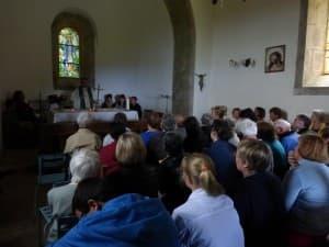 la chapelle est pleine !
