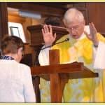 11, Jubilé d'or de soeur Martine Bonaïti, lors de la messe d'au revoir des prêtres célébrée à la cathédrale, dimanche 31 août 2014, DSC_0516
