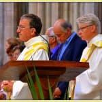 6, Jean-Michel Levitte et Denis Pellet-Many, diacres, lors de la messe d'au revoir des prêtres célébrée à la cathédrale, dimanche 31 août 2014, DSC_0502