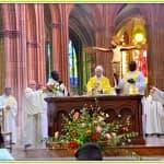 8, Célébration Eucharistique lors de la messe d'au revoir des pères Jacques Billout et François-Xavier Reveneau à la cathédrale, dimanche 31 août 2014, DSC_0508