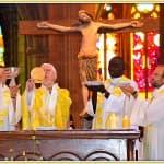9, Célébration Eucharistique lors de la messe d'au revoir des prêtres Jacques Billout et François-Xavier Reveneau à la cathédrale, dimanche 31 août 2014, DSC_0511