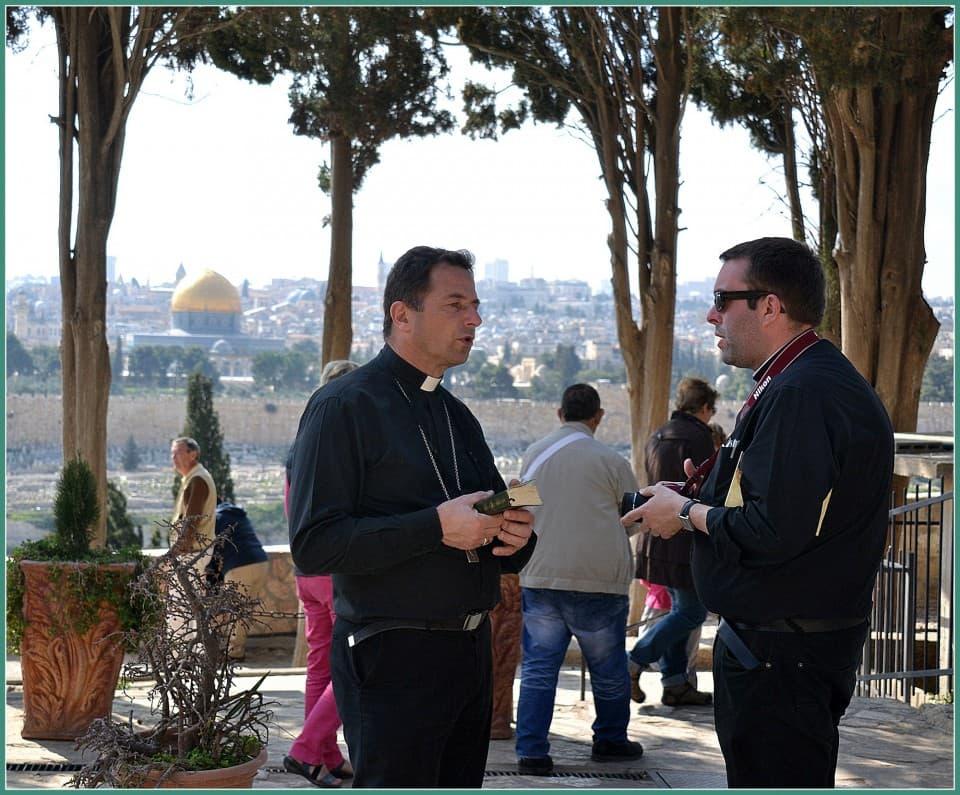 Jérusalem, Dominus Flevit, lundi 16 mars 2015,  2000 pixels