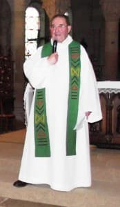 Père Louis Lagrange lors de ses 60 ans d'ordination