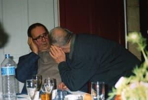 Père Louis et Père Lucien le  2 oct 2005
