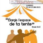 Rassemblement national de la Mission ouvrière à Lourdes, les 23,24 et 25 mai 2015