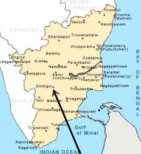 Diocèse de DINDIGUL carte http://www.india-travelinfo.com/india-maps/tamil-nadu-map.htm