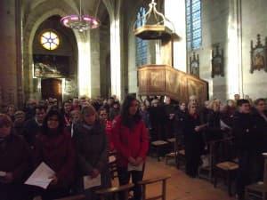 Messe dominicale unique dans l'église de Tannay pour les 8 paroisses du groupement