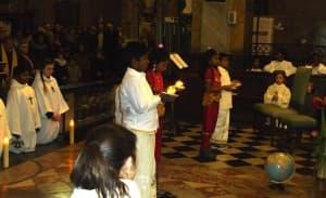 Messe de la visite pastorale de l'évêque de Nevers le 17 janvier 2016 112