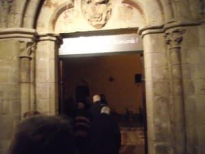 Franchissement de la Porte Sainte