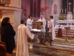 Proclamation de l'Evangile par le diacre