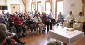 Messe à la maison de retraite Le clos