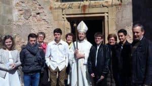 Fête de la confirmation pour cinq jeunes saint-saulgeois