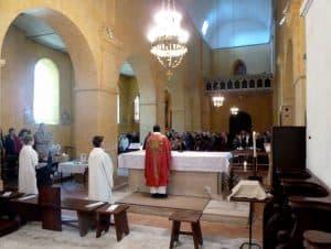 bénédiction à St Agnan