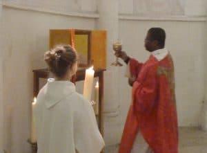 bénédiction tabernacle Cosne
