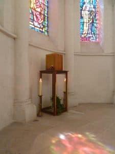 tabernacle St Agnan