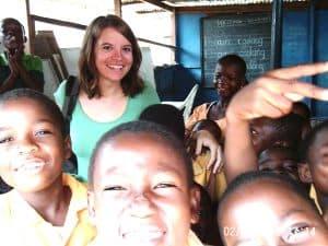 Marion Perrier au ghana