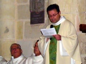 Père Eric Vinçon, supérieur du séminaire d'Orléans