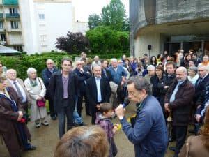 inauguration esplanade Ste Bernadette