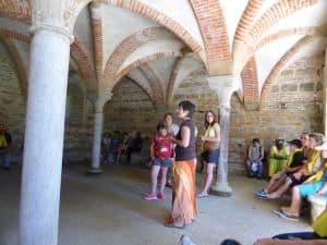 Mercredi après-midi, visite de l'abbaye d'Escaladieu