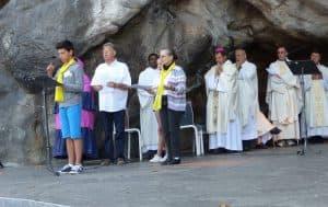 Lundi, intentions de prière à la grotte