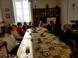 Sœurs de La Sainte Famille de Besançon à St Léonard, sœurs de Lormes (Congrégation de St Gildas des Bois) et les personnes consacrées.