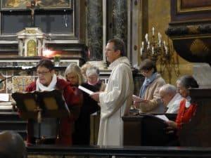 les personnes qui ont assuré l'accueil dans l'église St Pierre, expriment quelques belles rencontres.