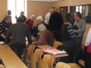 Cette récollection annuelle permet de nous retrouver entre diacres des 4 diocèses de la Province de Dijon et d'échanger fraternellement pendant les temps libres.