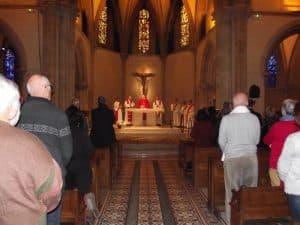 Eucharistie à la Chapelle Sainte Bernadette