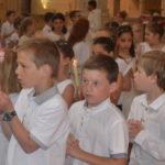 Première des communions à la cathédrale