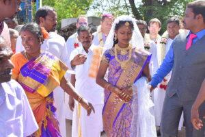 4, DSC_0791 bis, Procession du mariage de la soeur d'Arockiadoss, lundi 10 juillet 2017
