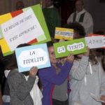 Messe de rentrée des établissements de l'Enseignement Catholique