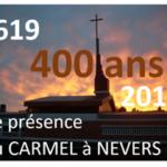 Calendrier mural 2019 à l'occasion des 400 ans de présence du Carmel à Nevers